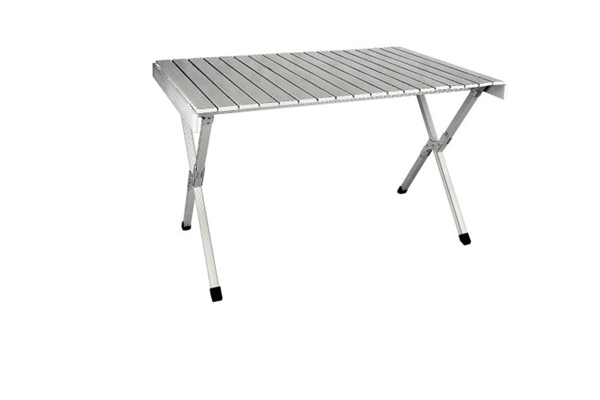 Aluminium/fabric Tables